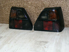 schwarze Rückleuchten Heckleuchten Hella VW Golf 2 19E GT GTI 16V G60 Rallyegolf