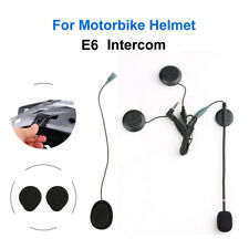 Headphone Mic Clip Fr EJEAS Motorbike Helmet E6 Intercom Microphone Headset