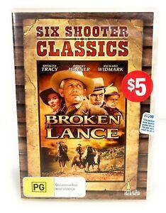 Broken Lance (DVD, 1954) Spencer Tracy New & Sealed Region 4 Free Postage