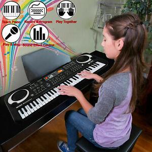 61 Keys Digital Music Electronic Keyboard Electric Piano Organ & Microphone Set