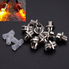 10 tlg LED Montageringe Kappen Leuchtkappen für LEDs Fassungen Halter Clip 3mm