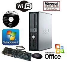 Dell Optiplex 780 Computer Tower Core 2 Duo 3.0GHz 16GB 1TB Windows 7 Pro Wifi
