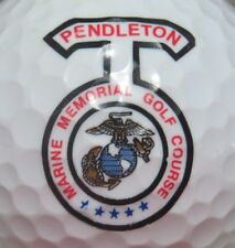 CAMP PENDLETON MARINE MEMORIAL GOLF COURSE MILITARY LOGO GOLF BALL