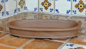 "Yixing 11"" High Quality Unglazed Bonsai Pot Bonsai Pots Shallow Forest"