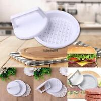 Portable Manual Hamburger Patties Press Mold Round Shape Meat Pie Press OO55 01