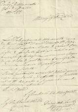 Lettera al Presidente Municipale Ripe S. Ginesio Delegazione Apostolica Macerata