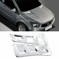 Chrome Bonnet Duct Garnish Molding C860 for SSANGYONG 2014-2016 Actyon Sports