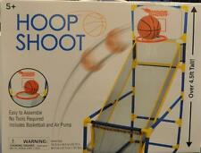 Hoop Shoot Basketball Includes Ball and Pump-FREE SHIPPING! GREAT FUN!-SEE VIDEO