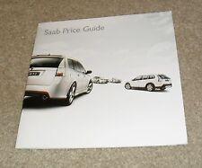 SAAB 93 prezzo GUIDE 2010 Cabrio 93X Vector Sport Aero 1.8 T 2.0 T 1.9 TTiD
