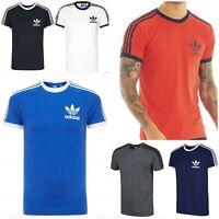 Adidas MEN'S ORIGINALS Retro Essentials Crew Neck Short Sleeve T-Shirt