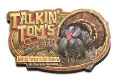 American Expedition Wood Magnet TALKIN TOMS TURKEY CALLS, Vintage Ad Series, New