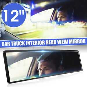 Rear View Mirror Rearview Car Interior Anti Glare Wide Angle Panoramic Convex