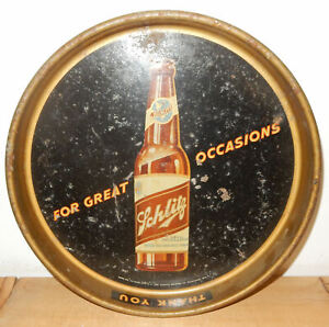 Old SCHLITZ Beer Tray