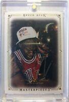 2009-10 Upper Deck Masterpieces Michael Jordan #MA-JO, Chicago Bulls, MVP, HOF