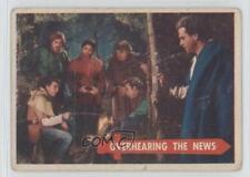 1957 Topps Robin Hood #39 Overhearing the News Non-Sports Card 0s4