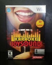 Karaoke Joysound - Nintendo Wii Bundle