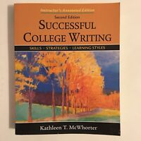 Successful College Writing : Skills, Strategies, Learning Styles by Kathleen...
