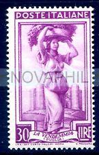ITALIA 1955 - ITALIA AL LAVORO RUOTA  Lire 30  NUOVO **