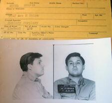 1968 New York City Police MUG Shot Photo