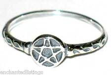 New- Sterling Silver Pentagram/Pentacle Ring Size 7 Wicca/Wiccan/Pagan