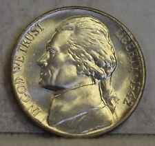 """1942-S *War Nickel* Jefferson Nickel """"Gem BU"""" *Free S/H After1st Item*"""