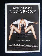 Filmplakatkarte cinema   Der große Bagarozy    Til Schweiger, Corinna Harfouch