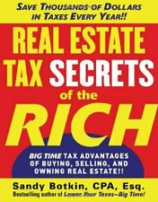 Real Estate Tax Secrets of the Rich  Big-Time Tax Advantages of Buyin