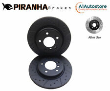 PEUGEOT TRAVELLER 2.0 BlueHDi 150/180 16- REAR BRAKE DISCS 294mm COATED BLACK