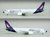 Inflight IF7380512A Malev Boeing 737-800 One World HA-LOU Diecast 1/200 Model