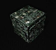 STAR TREK Micro Machines - BORG CUBE grey/brown- Kubus Voyager DS9 TNG IX model