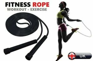 Skipping Rope Nylon Jumping Speed Exercise Handle Boxing Fitness Training Adult