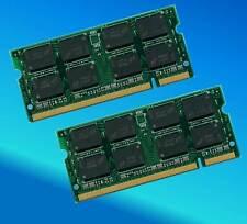 2GIG 2x1GB 2GB RAM Memory TOSHIBA EQUIUM A100-02L
