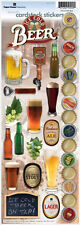 PAPER HOUSE BEER BEVERAGES PARTY CELEBRATION PUB CARDSTOCK SCRAPBOOK STICKERS