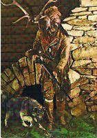 AK370 Ansichtskarte Postkarte Indianer-Museum Radebeul Trapper - color DDR 1976