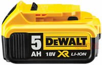 NEW Genuine Dewalt DCB184 18v 5.0Ah XR Li-Ion 5ah Lion Slide Battery 5000mah