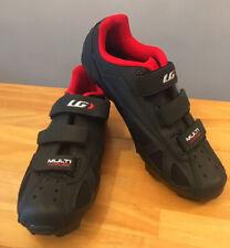 Louis Garneau Multi AirFlex HRS-80 Men's Cycling Shoes Black/Red Sz.45 USA 10.75