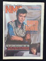 NME New Musical Express 29 September 1984 David Bowie Cover  Boy George