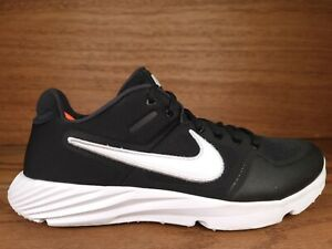 NEW Nike Alpha Huarache Elite 2 Baseball Turf Shoes Black Size 12 AJ6877-001