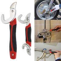 Universal 1 Hand Self Adjusting Wrench Set 2 Piece Spanner 9-32mm Pipe Bolt Nut