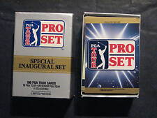 Golf Cards 1990 Pro Set -100 cards Special Inaugural Set