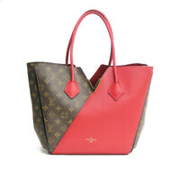 LOUIS VUITTON Shoulder Bag M40459 Brown Red Monogram Kimono from japan