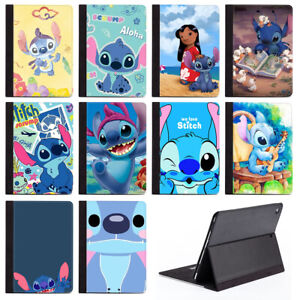 Cartoon Lilo & Stitch Protective Stand Case Cover For Apple iPad Air Mini