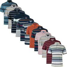 B54 RRP £16.81 M/&S Collection Pure Cotton Striped Polo Shirt
