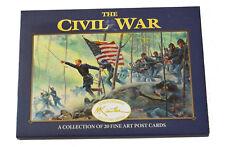 American Civil War Official Mort Kunstler The Civil War 20 x  Postcards  Set