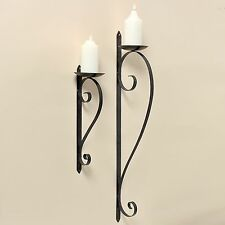 Antique Style Iron Candle & Tea Light Holders
