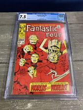 Fantastic Four #75, CGC 7.5 Silver Surfer & Galactic Appearance