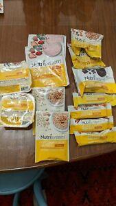 Nutrisystem Breakfast Lot - 13 Items - 9 Meals, 4 Bars