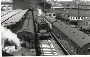 Rail Photo LMS 462 Duchess 46248 Preston Station Lancashire LNWR LYR