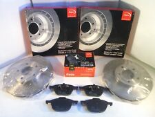 Ford Fiesta Mk6 Front Brake Discs and Pads Set 2002-2009 *GENUINE APEC OE*