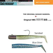 2+1 SAVAGE GEAR Sandaal + Blue Silver 18/14cm + VMC - 9131PS 100g Seelachskiller